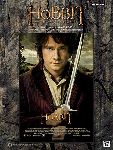 9780739091593: The Hobbit -- An Unexpected Journey: Sheet Music Selections from the Original Motion Picture Soundtrack (Piano/Vocal)