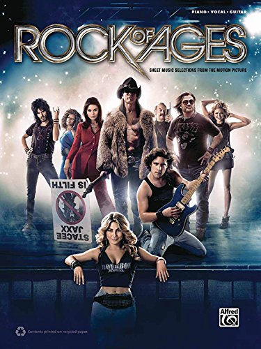 9780739091609: Rock of Ages: Sheet Music Selections From the Motion Picture: Piano/ Vocal/ Guitar