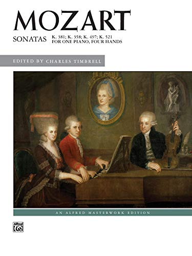 9780739091715: Sonatas for One Piano, Four Hands (Alfred Masterwork Edition)