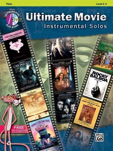 9780739091876: Ultimate Movie Instrumental Solos: Flute, Book & CD (Alfred's Instrumental Play-Along)
