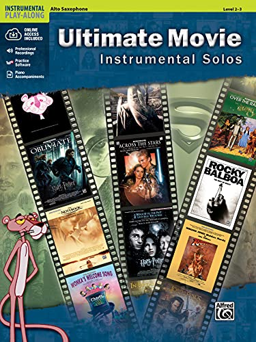 9780739091890: Ultimate Movie Instrumental Solos: Alto Sax, Book & CD (Ultimate Pop Instrumental Solos Series)