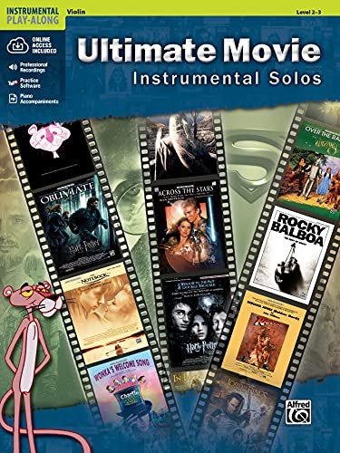 9780739091944: Ultimate Movie Instrumental Solos for Strings: Violin, Book & CD (Alfred's Instrumental Play-Along)