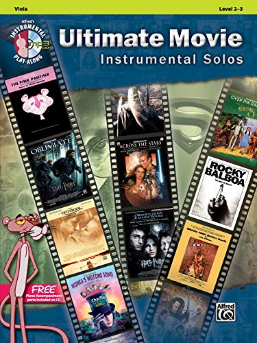 9780739091951: Ultimate Movie Instrumental Solos for Strings: Viola, Book & CD (Ultimate Pop Instrumental Solos Series)