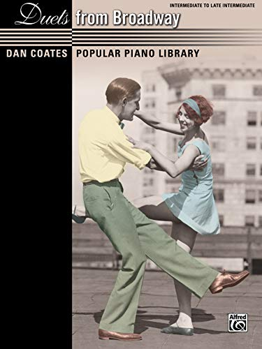9780739092101: Duets from Broadway: Intermediate to Late Intermediate (Dan Coates Popular Piano Library)