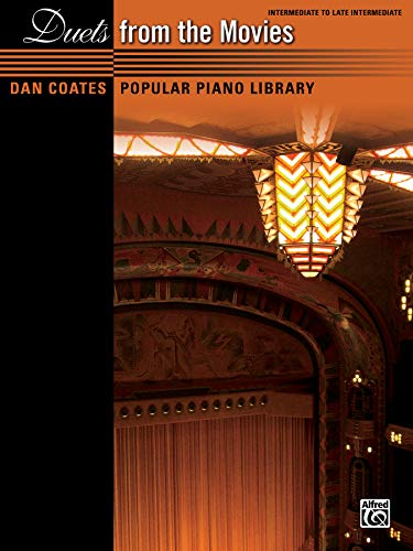 9780739092118: Dan Coates Popular Piano Library -- Duets from the Movies