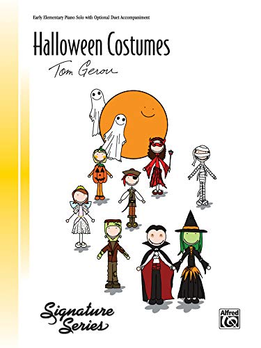9780739092163: Halloween Costumes: Sheet (Signature Series)