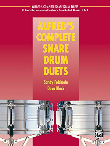 9780739092354: Alfred's Complete Snare Drum Duets (Alfred's Drum Method)