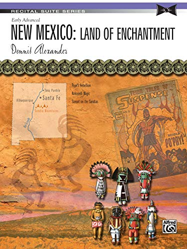 9780739092446: New Mexico -- Land of Enchantment: Sheet (Recital Suite Series)