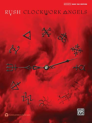 9780739092651: Rush -- Clockwork Angels: Authentic Bass TAB