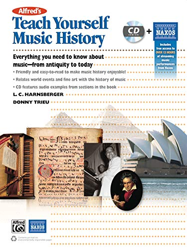 Alfred's Teach Yourself Music History: Everything You Need to Know from Antiquity to Today, ...