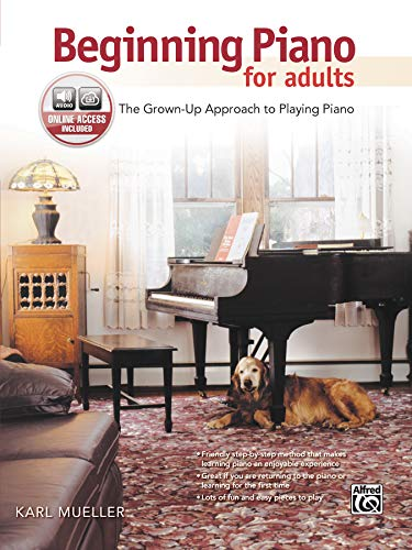 9780739092736: Beginning Piano for Adults: The Grown-Up Approach to Playing Piano, Book & CD