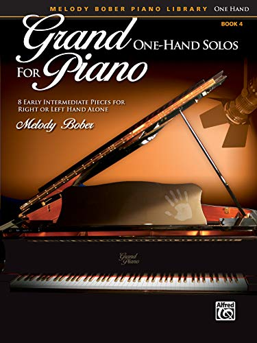 9780739092750: Grand One-Hand Solos for Piano 4: 8 Early Intermediate Pieces for Right or Left Hand Alone