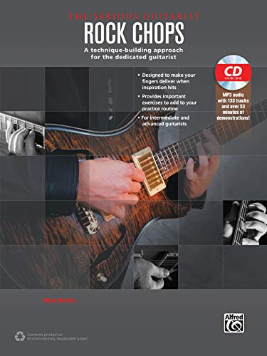 9780739093054: The Serious Guitarist -- Rock Chops: A Technique-Building Approach for the Dedicated Guitarist, Book & MP3 CD