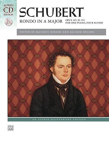 Schubert -- Rondo in A Major, Op.: Staff, Alfred Publishing