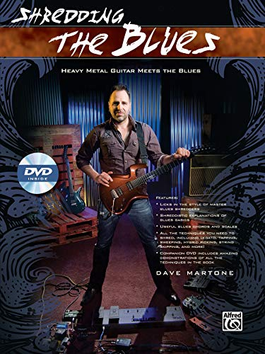 9780739093306: Shredding the Blues: Heavy Metal Guitar Meets the Blues, Book & DVD