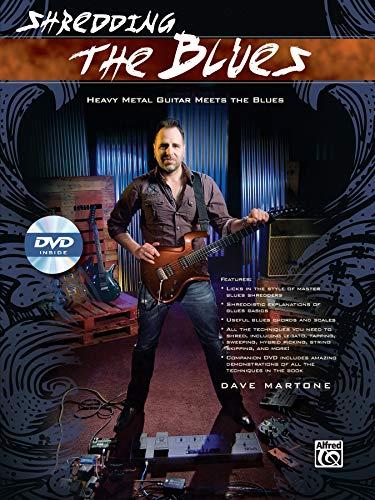 9780739093306: Shredding the Blues: Heavy Metal Guitar Meets the Blues, Book & DVD (Shredding Styles)