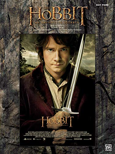 9780739093535: The Hobbit: An Unexpected Journey: Easy Piano Selections from the Original Motion Picture Soundtrack