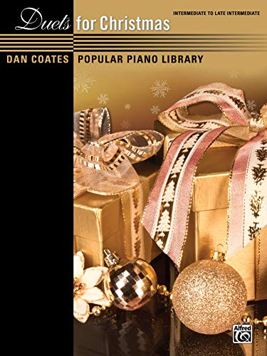 9780739093610: Duets for Christmas (Dan Coates Popular Piano Library)