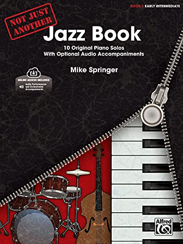 9780739093696: Not Just Another Jazz Book, Book 1 Intermediate: 10 Original Piano Solos with Optional CD Accompaniments
