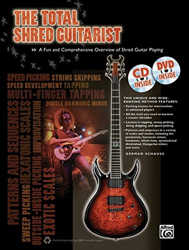 9780739093764: The Total Shred Guitarist: A Fun and Comprehensive Overview of Shred Guitar Playing, Book, CD & DVD (Total Guitarist)