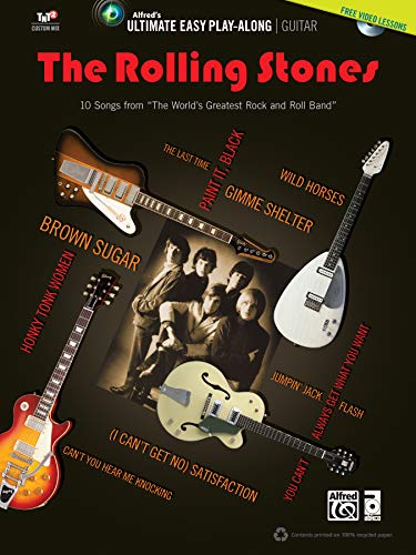 9780739093849: The Rolling Stones: Guitar: 10 Songs from the