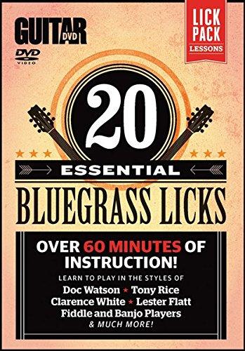 9780739093931: 20 Essential Bluegrass Licks