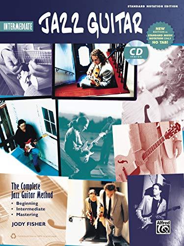 9780739094426: Complete Jazz Guitar Method: Intermediate Jazz Guitar, Book & CD (Complete Method)