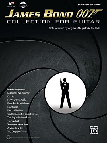 9780739094563: James Bond 007 Collection for Guitar: Easy Guitar Tab, Book & DVD-ROM (Easy Guitar Tab Editions)