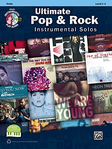 9780739094952: Ultimate Pop & Rock Instrumental Solos for Strings: Violin, Book & CD (Ultimate Pop & Rock Instrumental Solos: Instrumental Play-Along)