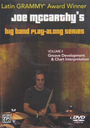 9780739095010: Joe McCarthy's Afro-Cuban Big Band Play-Along, Vol 2: Groove Development and Chart Interpretation, DVD
