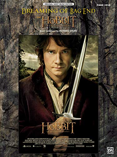 Dreaming of Bag End (from The Hobbit -- An Unexpected Journey): Piano Solo (Sheet) (Original Sheet ...
