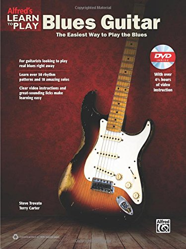 9780739095317: Alfred's Learn to Play Blues Guitar: The Easiest Way to Play the Blues, Book & DVD