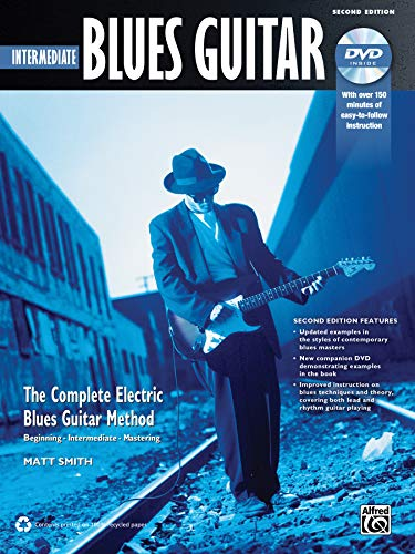 9780739095379: Complete Blues Guitar Method: Intermediate Blues Guitar, Book & DVD