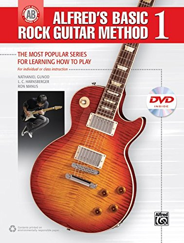 9780739095409: Alfred's Basic Rock Guitar Method, Bk 1: The Most Popular Series for Learning How to Play, Book & DVD (Alfred's Basic Guitar Library)