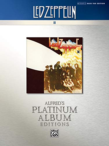 9780739095621: Led Zeppelin II: Authentic Bass Tab Edition
