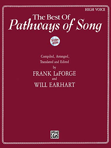 9780739095812: The Best of Pathways of Song: High Voice, Book & CD (Pathways of Song Series)