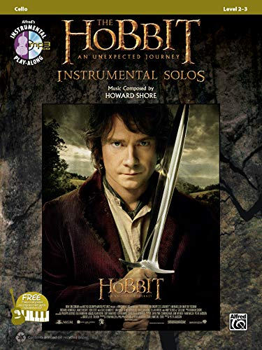 9780739096000: The Hobbit -- An Unexpected Journey Instrumental Solos for Strings: Cello, Book & CD