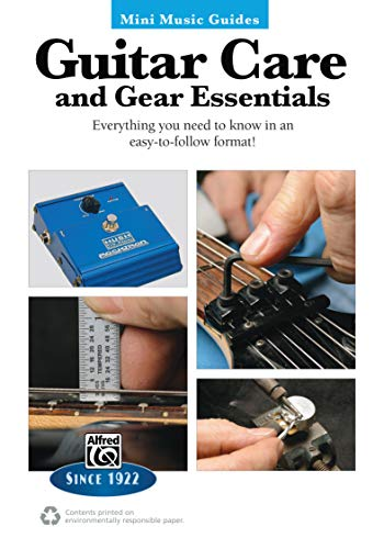 9780739096369: Mini Music Guides -- Guitar Repair & Maintenance