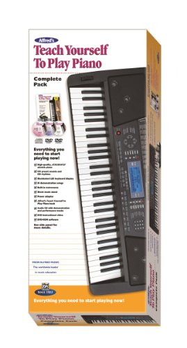 9780739096413: Alfred's Teach Yourself to Play Piano Complete Pack: Everything You Need to Start Playing Now! (Starter Pack) (Teach Yourself Series)