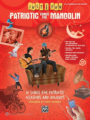 9780739096499: Just for Fun -- Patriotic Songs for Mandolin: 10 Songs for Patriotic Occasions and Holidays
