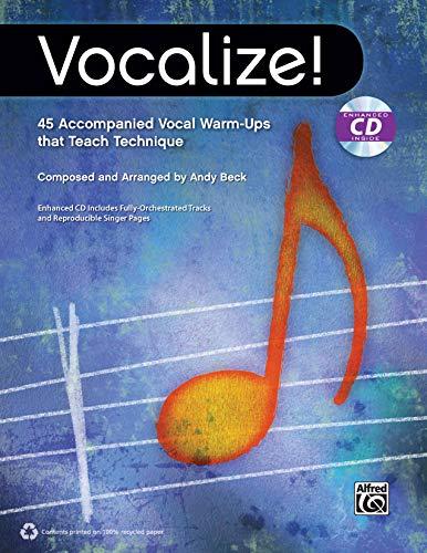 9780739096529: Vocalize!: 45 Accompanied Vocal Warm-Ups That Teach Technique