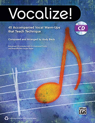 9780739096529: Vocalize!: 45 Accompanied Vocal Warm-Ups That Teach Technique, Book & Enhanced CD
