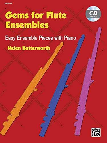 9780739096796: Gems for Flute Ensembles: Easy Ensemble Pieces with Piano (Book & CD)
