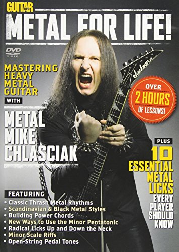 Guitar World: Metal for Life! Format: DvdRom: By Metal Mike Chlasciak