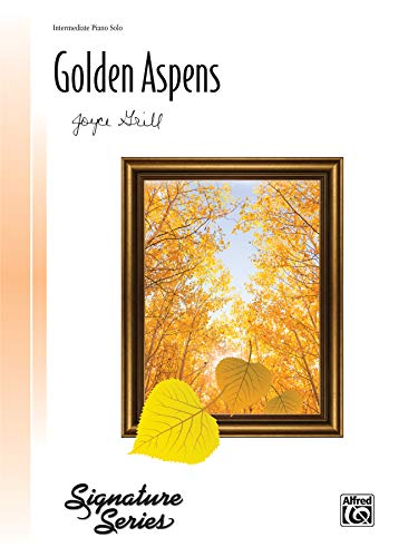 9780739097304: Golden Aspens: Sheet (Signature Series)