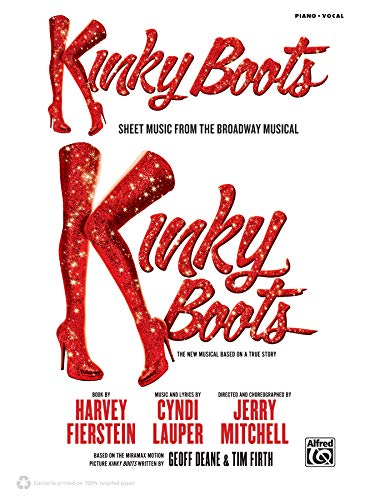 9780739098363: Kinky Boots: Sheet Music from the Broadway Musical: Piano/Vocal