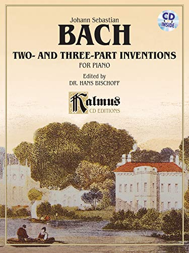 Two- and Three-Part Inventions Format: Book &: By Johann Sebastian