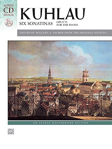 9780739098554: Six Sonatinas, Op. 55 (Book & CD) (Alfred Masterwork CD Edition)