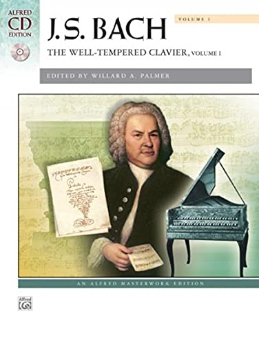 9780739098561: Bach -- The Well-Tempered Clavier, Vol 1: Comb Bound Book (Alfred Masterwork CD Edition)