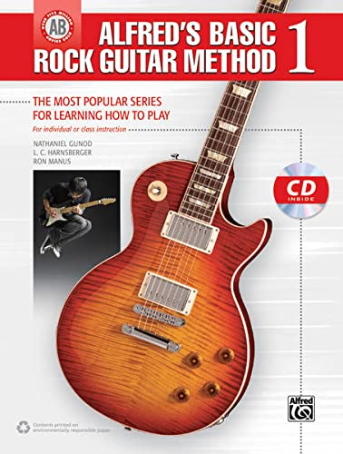 9780739098776: Alfred's Basic Rock Guitar Method, Bk 1: The Most Popular Series for Learning How to Play, Book & CD (Alfred's Basic Guitar Library)